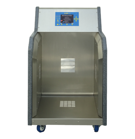 A control monitor for radioactive waste
