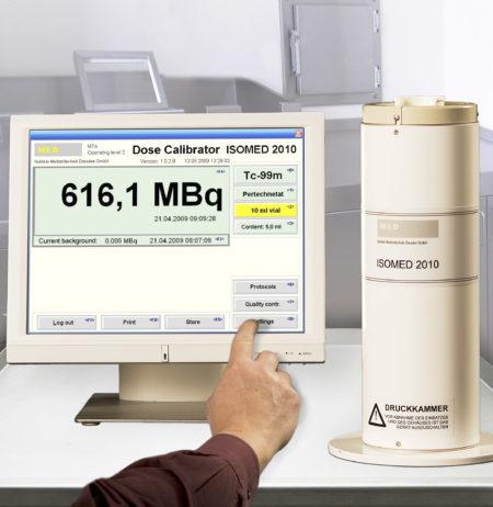 ISOMED 2010 dose calibrator MED nuklear