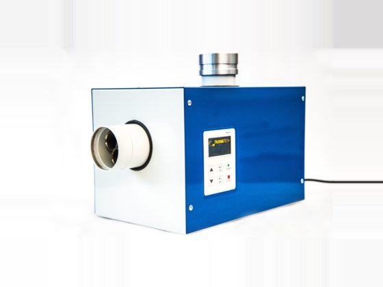 An auto-controlled volume air sampler