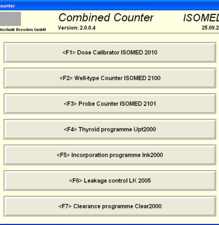 NuMED ISOMED2101 probe counter