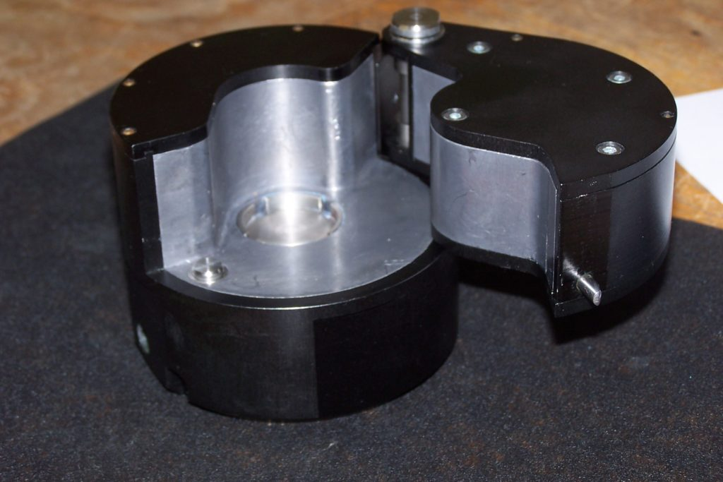 A shielding container