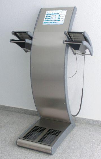 A stationary Hand-Foot-Clothing Contamination Monitor