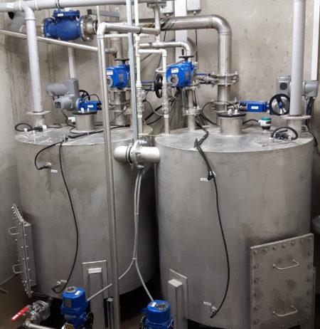NuWM LIRW Liquid Radioactive Waste System